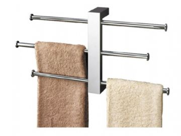 Gedy Bridge Towel Holder Wall Mounted Chrome 7630-13